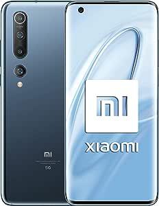 """Xiaomi Mi 10 (Pantalla FHD+ 6.67"""", 8GB+128GB, Camara de 108MP ..."""