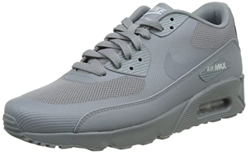Nike Mens Air Max 90 Ultra 2.0 Essential, Cool GreyCool GreyWolf GreyCool Grey, 9.5 D(M) US