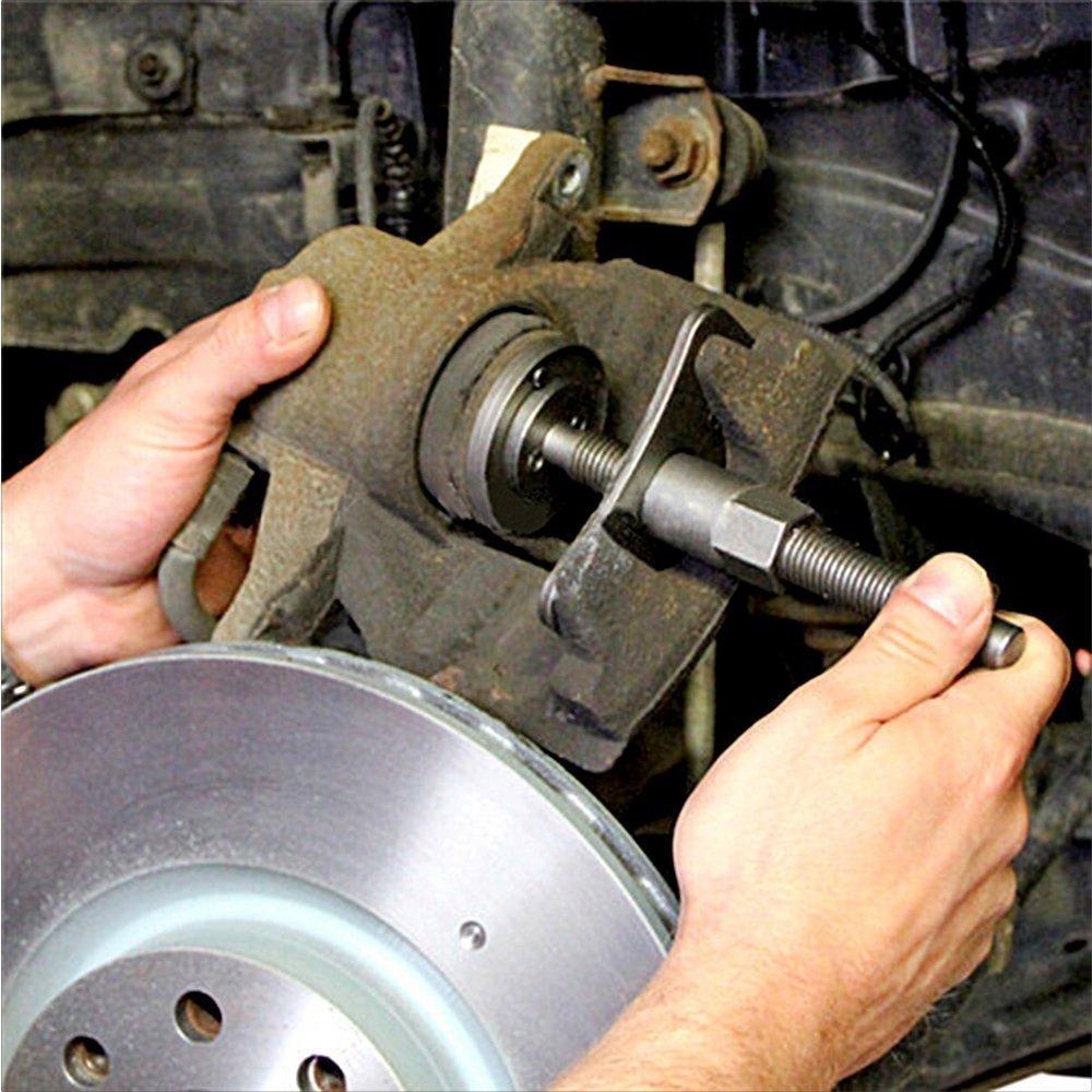 Brake Disc Caliper Wind Back Tool Kit - 35 Piece Universal Piston Rewind Set - Discs Break Pad Caliper Compressor Service Tools - by Jecr (Image #2)