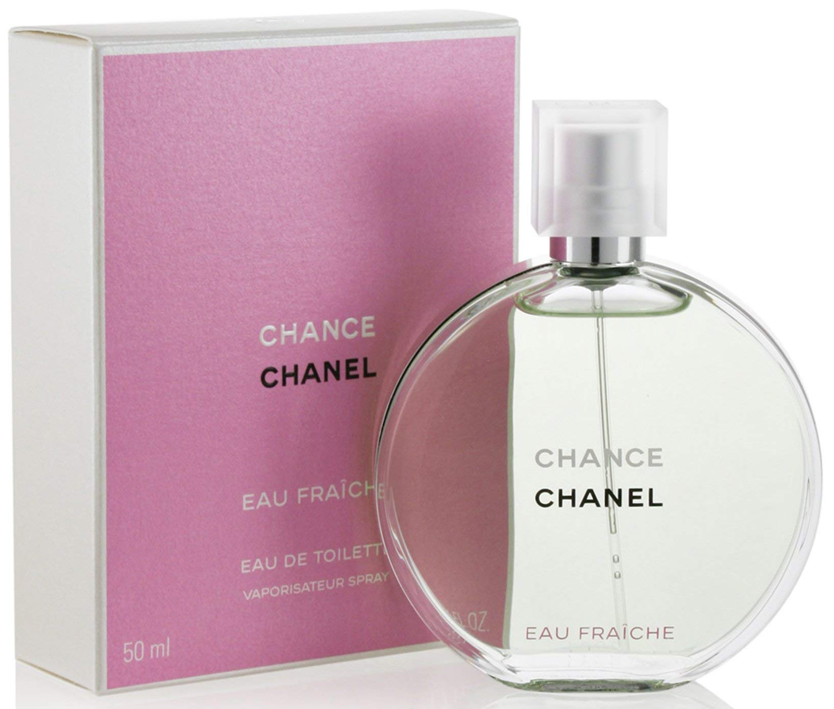 Chancè Chanèl Eau Fraiche Eau De Toilette Spray, for Woman EDT 1.7 fl oz, 50 ml by Chanèl