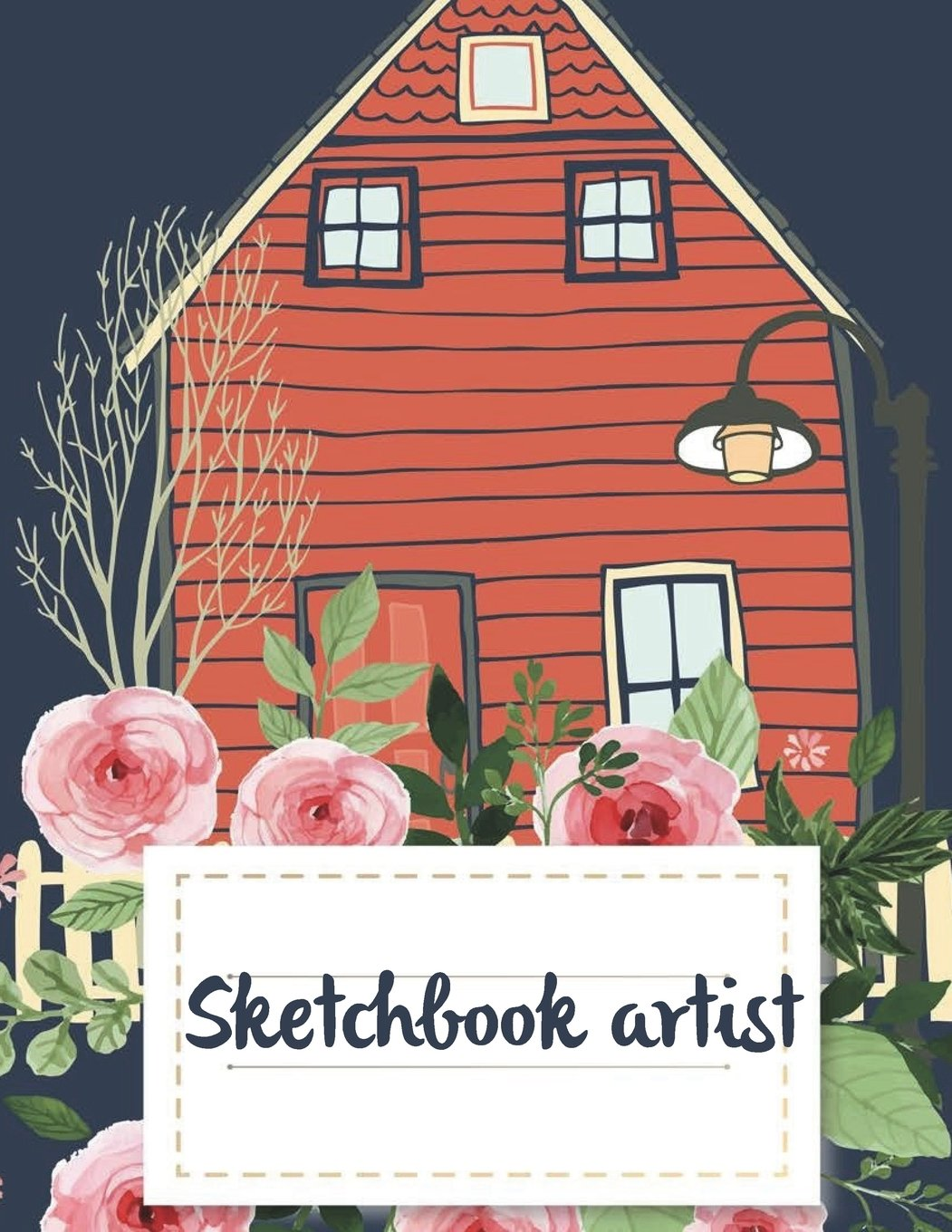 """Sketchbook artist: A Journal With Blank Paper For Drawing, Sketching, Doodling, Journal Writing And Notes 120 Pages Large Size 8.5"""" x 11"""" ebook"""