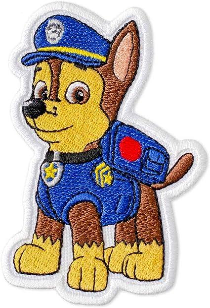 Paw Patrol tipo Bordado De Hierro//Coser Parche Aplique Insignia