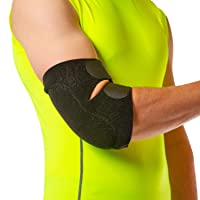 BraceAbility Bursitis Elbow Pad Brace | Compression Arm Sleeve Wrap with Padded...