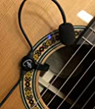 """""""THE FEATHER"""" GYPSY JAZZ GUITAR PICKUP with FLEXIBLE MICRO-GOOSE NECK by Myers Pickups ~ See it in ACTION! Copy and paste: myerspickups.com"""
