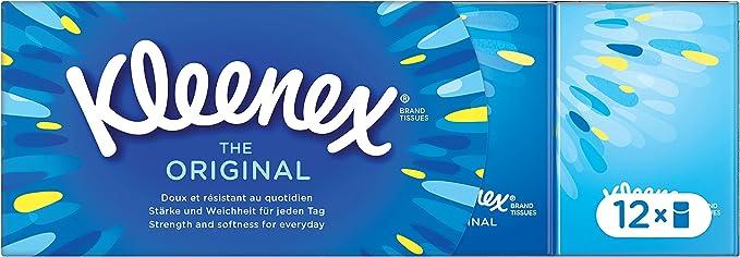 Kleenex The Original Pañuelos - 12 Unidades: Amazon.es ...