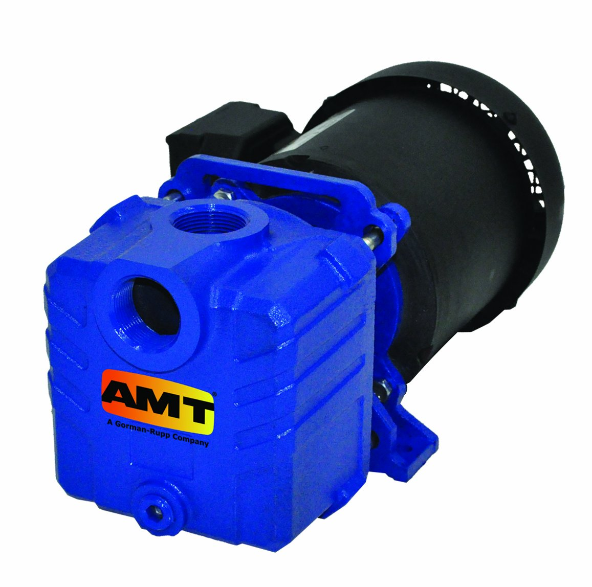 AMT Pump 285E-95 Self-Priming Centrifugal Pump, Cast Iron, 1/2 HP, 1 Phase, 115/230 V, Curve A, 1'' NPT Female Suction & Discharge Ports