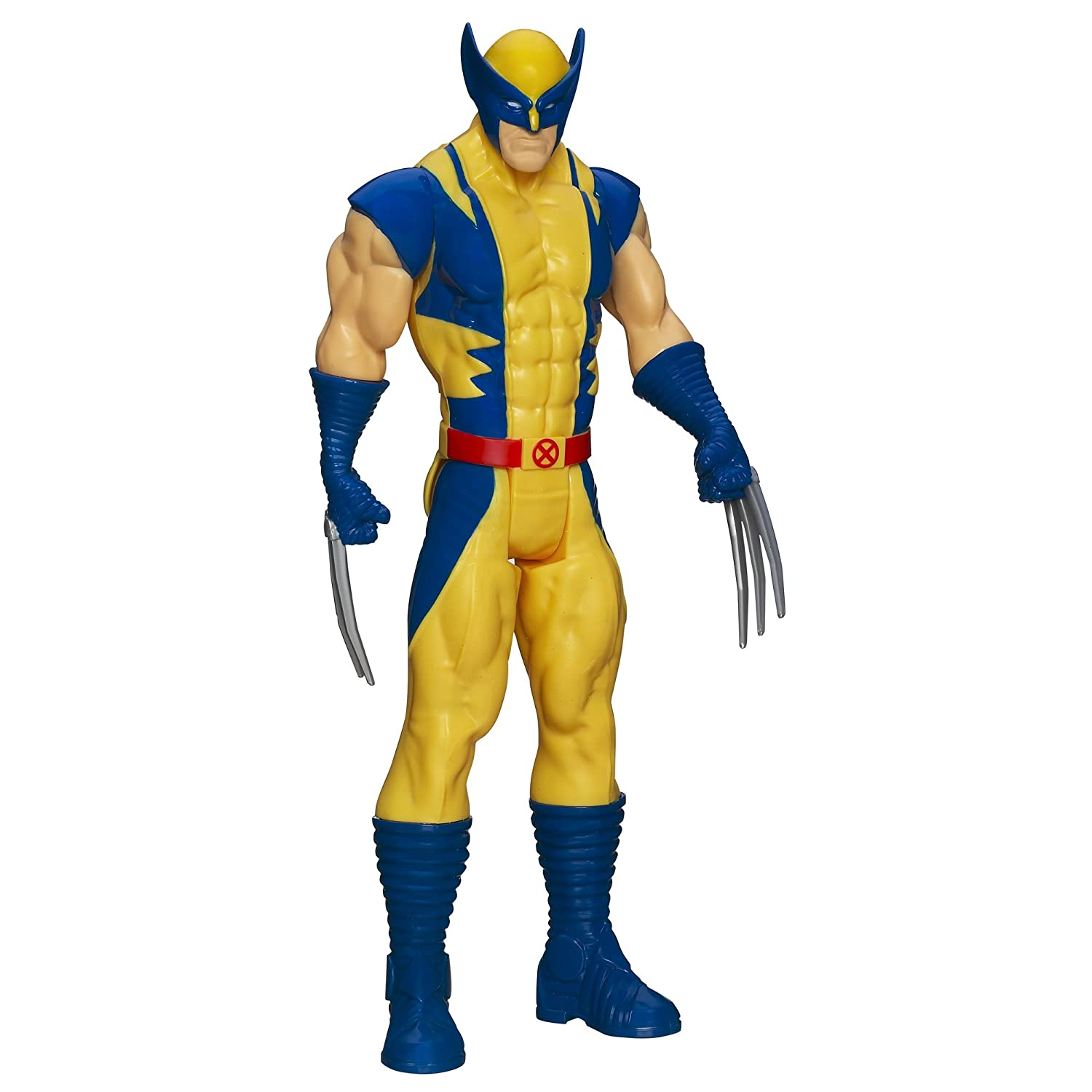 Action figure iron man wolverine ultimate spider titan