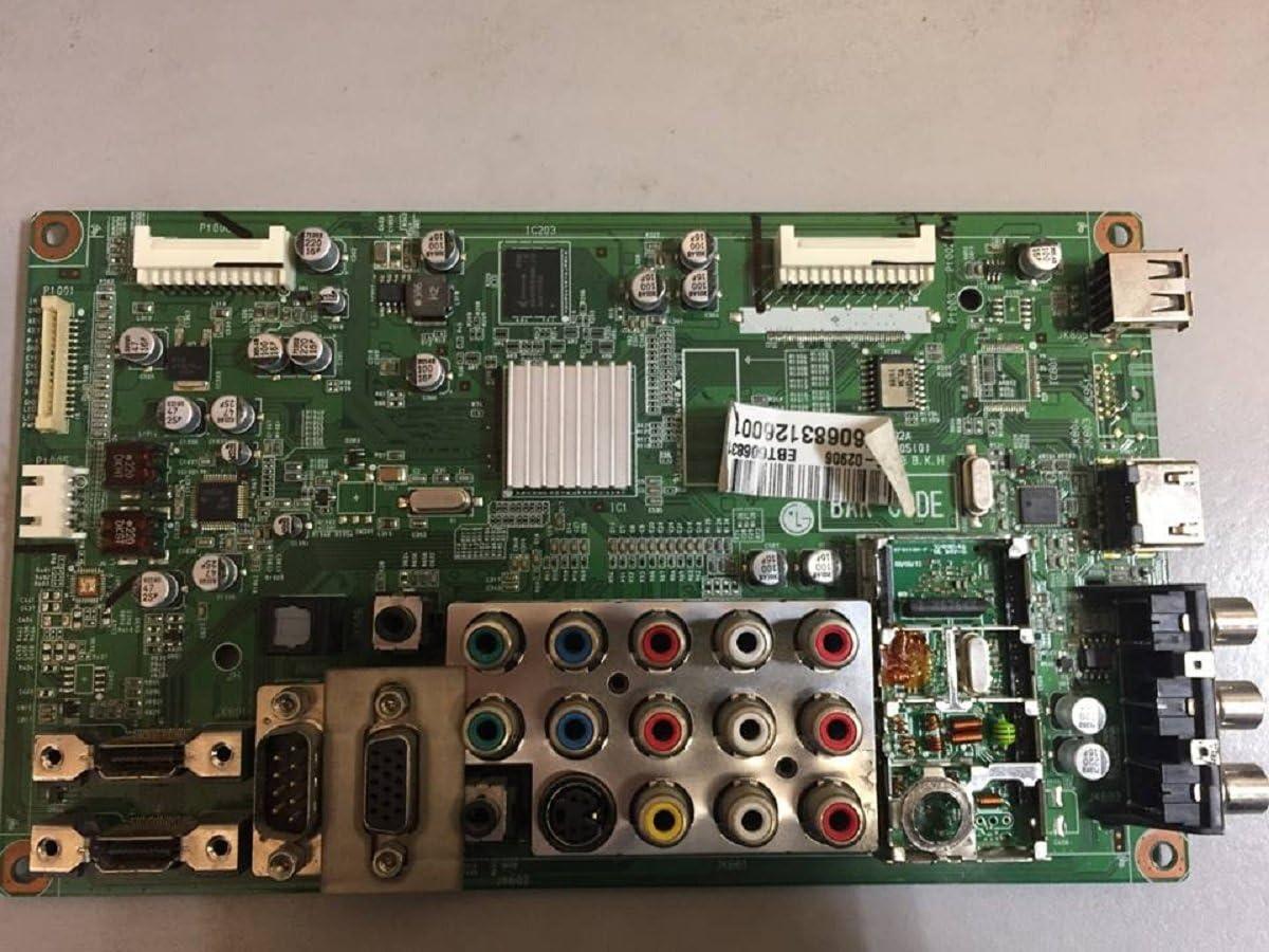 LG EBT60683126 - Placa principal para 42PQ30-UA (conector anti niebla): Amazon.es: Electrónica