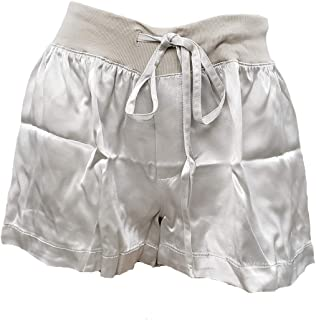 product image for PJ Harlow Women's Mikel Satin Boxer Short with Draw String - PJSB5 (Small, Clay)