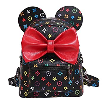 Zantec Bolso multifuncional del palmo del hombro de la mochila de los oídos de Mickey Mouse ...