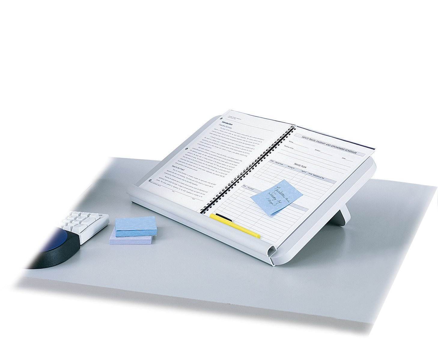 Safco Products 2156 Ergo-Comfort Read/Write Copy Stand, Light Gray