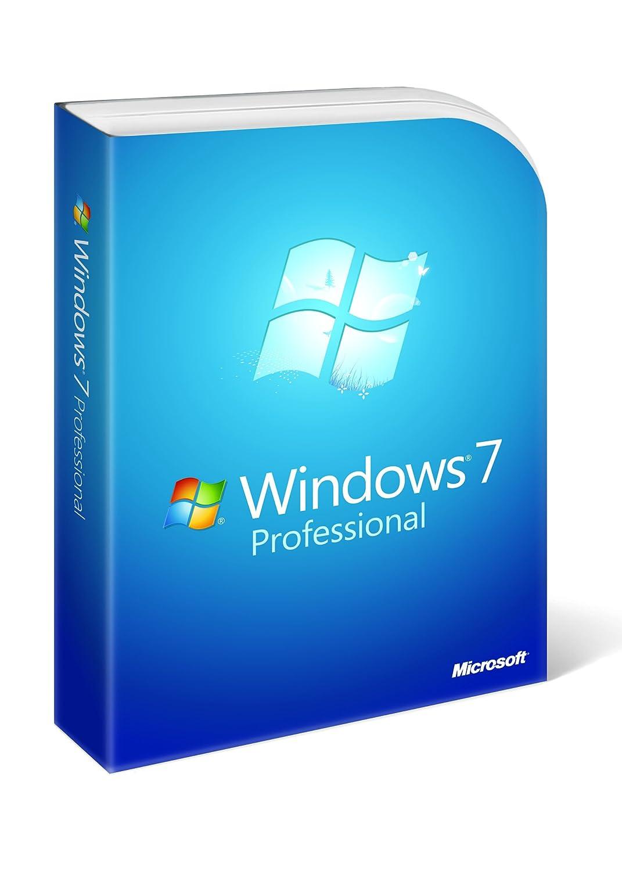 Windows 7 Professional 32/64 Bit englisch: Amazon.es: Software