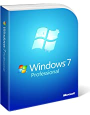 Microsoft Windows 7 Professional, Full Version  (PC DVD), 1 User