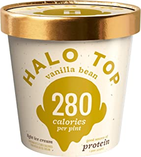 product image for Halo Top, Vanilla Bean Ice Cream, Pint (4 Count)