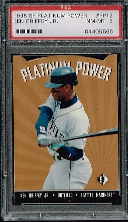 sports shoes bbc45 6633e PSA 8 1995 SP Platinum Power Ken Griffey Jr MLB Baseball ...