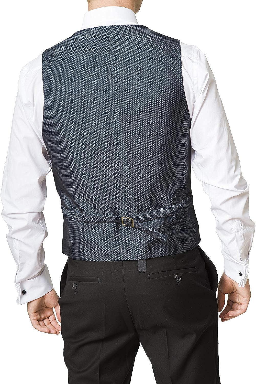 Colors Adam Baker Mens 3-Piece Single Breasted Slim Fit Suit /& Tuxedo
