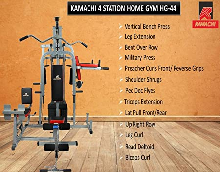 Kamachi home gym hg-44 - 4 station home gym