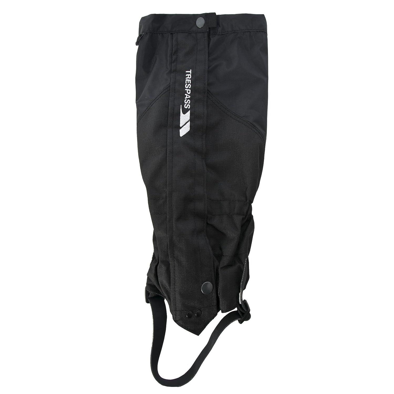 Black UK Size  L XL Trespass Adults Unisex Nanuk Performance Gaiter (Pack Of 1)