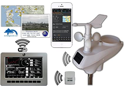 Amazon.com: Ambient Weather ws-1000-wifi Observer WiFi ...