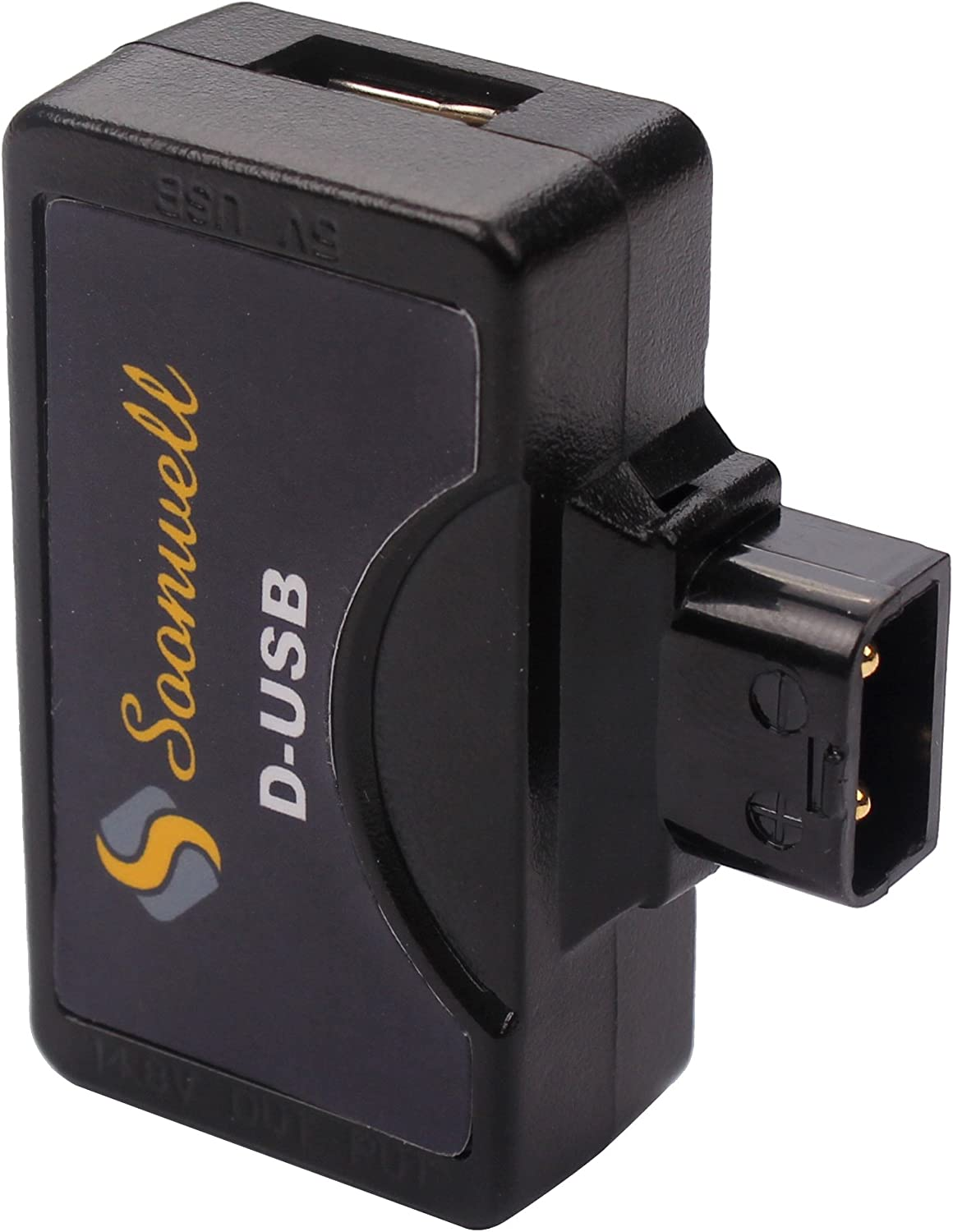 SOONWELL D-Tap P-Tap to 5V USB Adapter Connector for Anton//Sony V-Mount Camera Battery