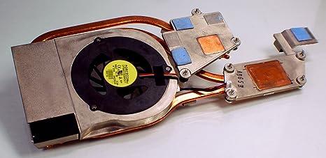 Nueva cffp7 Original Dell precisión M4500 ordenador portátil Cobre Disipador w/ventilador control de temperatura