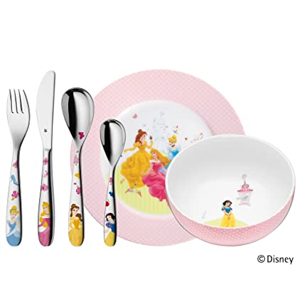 Amazon.com: WMF Childrens Cutlery 4-Piece Set Cuddle, Multicoloured, 400x250x98 cm: Home & Kitchen
