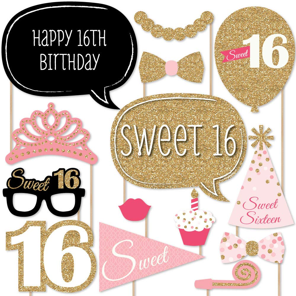 Amazon.com: 16th BIRTHDAY PARTY SUPPLIES DECORATIONS