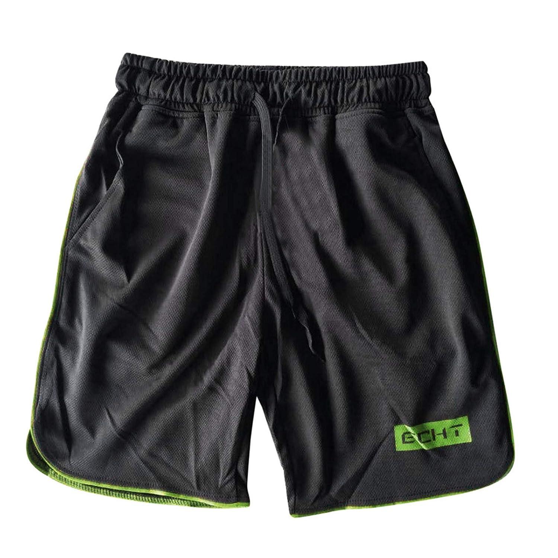 Mens Sports Training Bodybuilding Summer Shorts Workout Fitness Gym Short Pants