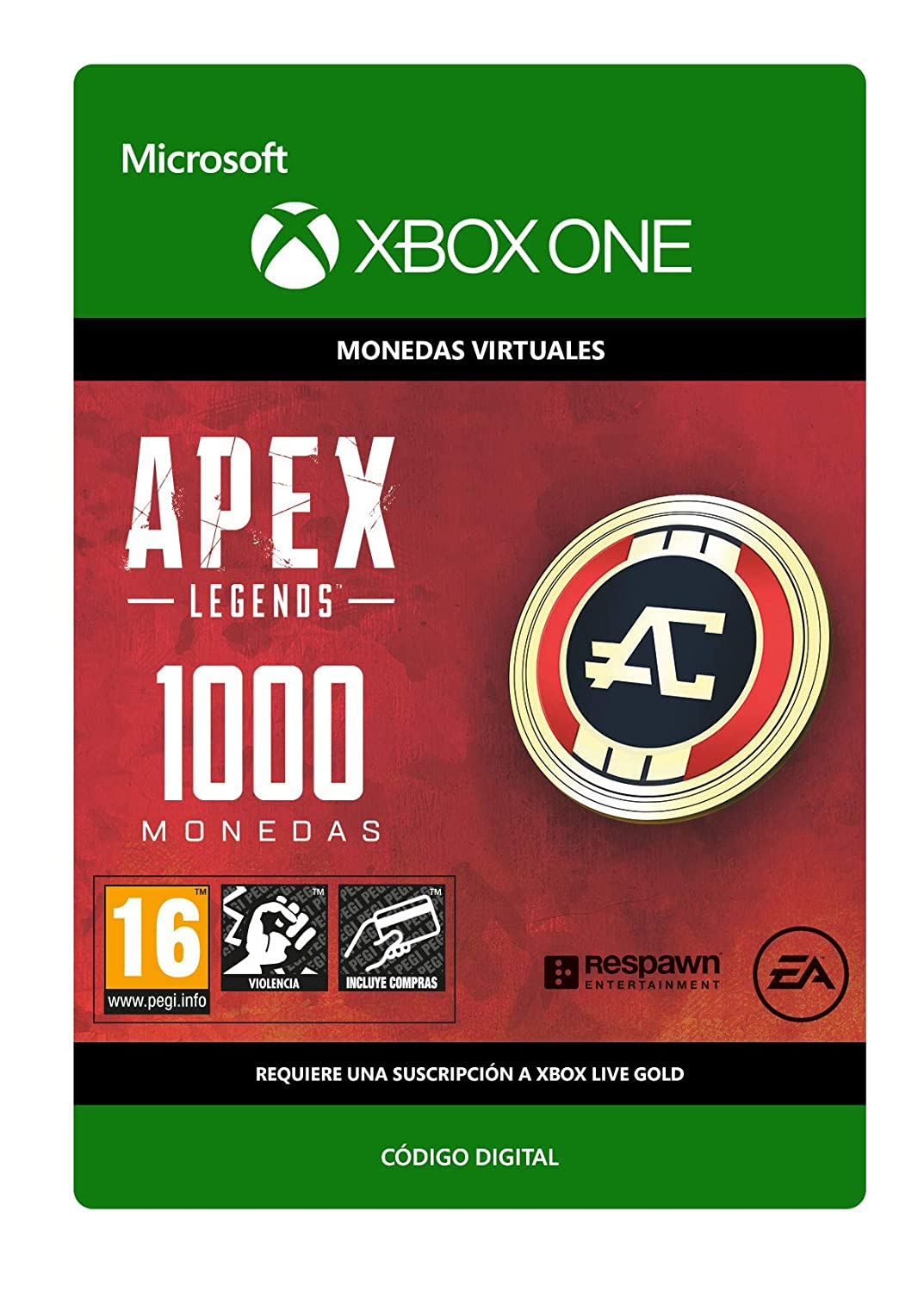 APEX Legends: 2150 coins | Xbox One - Download Code: Amazon ...