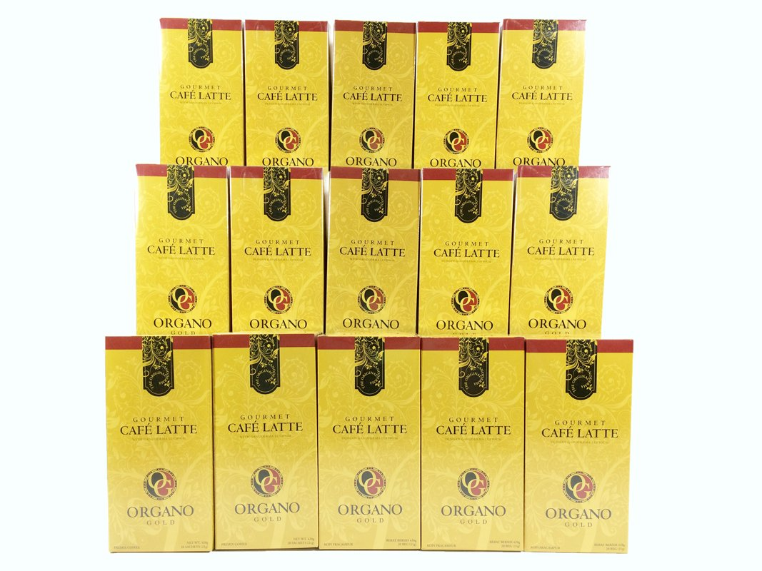 Organo Gold 30 Boxes Cafe Latte by Organo Gold (Image #1)