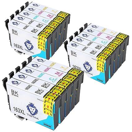 tigtak compatible 16 x l (T1631 T1632 T1633 T1634) Cartuchos de ...