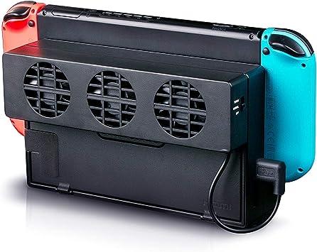 Linkstyle Ventilador de enfriamiento Compatible con Nintendo ...