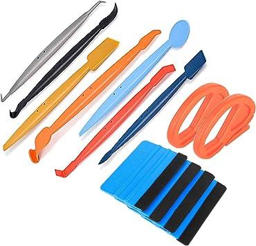 7Pcs//Set Micro Magnetic Squeegee Car Stickers Flex Window Tint Wrap Vinyl Tools