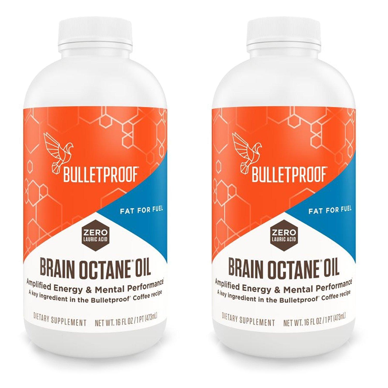 Bulletproof Brain Octane Oil - 16oz (2 Pack)
