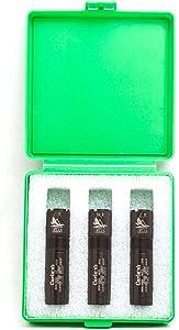Carlson's Choke Tubes Waterfowl Carlson's Beretta/Benelli Mobil 20GA Delta Waterfowl 3 Pack Set, Black