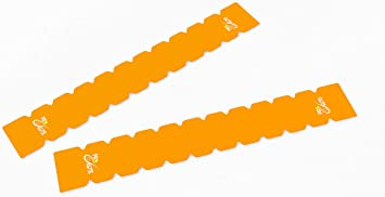 Protector Dentado Pro-Elite para Pala de Padel (Naranja Fluor ...