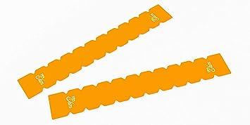 Protector Dentado Pro-Elite para Pala de Padel (Naranja Fluor)