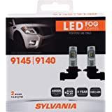 amazon com sylvania h11 zevo fog high performance led bulb 36693 2 pack automotive amazon com sylvania h11 zevo fog