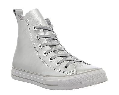 Converse Ctas Unlined Loop Hi Silver White Exclusive - 6.5 UK