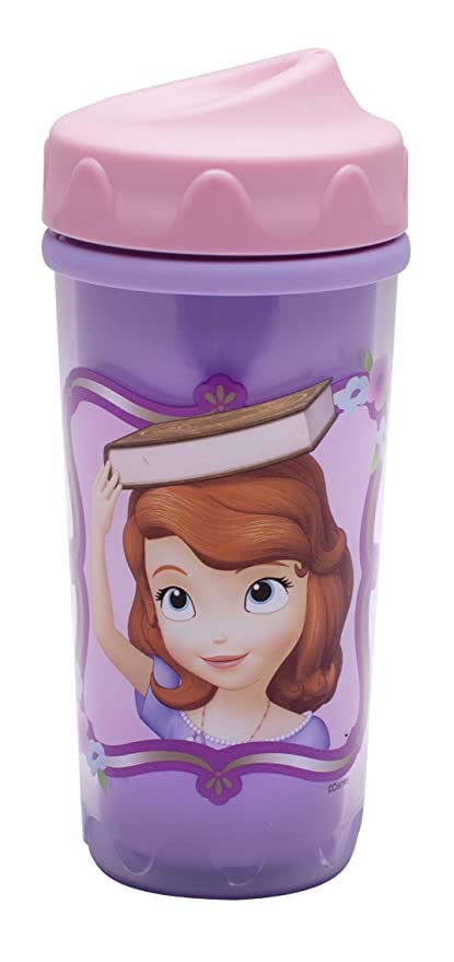 8.7oz Double Wall Insulated Construction and Adjustable Flow Technology Zak Designs Toddlerific Perfect Flo Toddler Cup with the Minions Break-resistant and BPA-free Plastic
