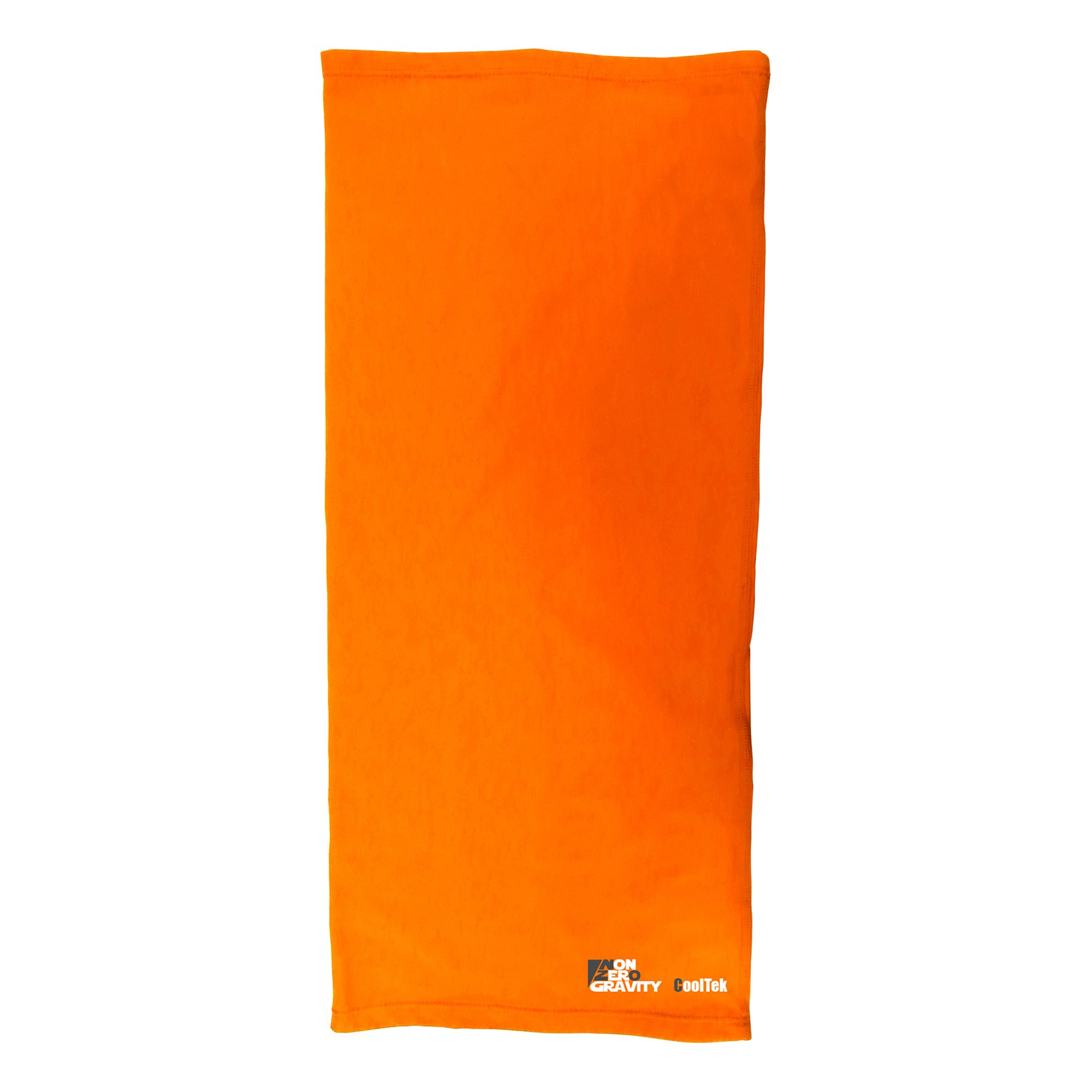 NonZero Gravity Cooling Hood | Tactical Hoodie, Head Wrap And Neck Scarf For Cycling, Biking And Sports (12-in-1, Orange)