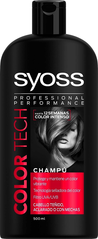 abbe72bfb9 Amazon.com : Syoss Chp 500Ml Color Tech : Beauty