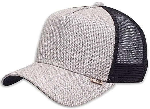 3d5538a6a0c Image Unavailable. Image not available for. Colour  DJINNS - Rhomb (black  sand) - High Fitted Trucker Cap