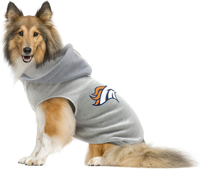 NFL Denver Broncos Team Dog Sweatshirt Large