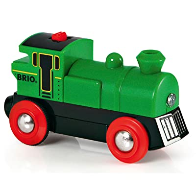 BRIO World - 33595 Battery Powered Engine Train | Toy Train for Kids Ages 3 and Up: Toys & Games