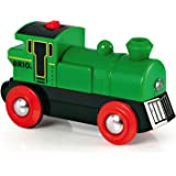 Brio BRI33595 Battery Powered Engine Train,Green