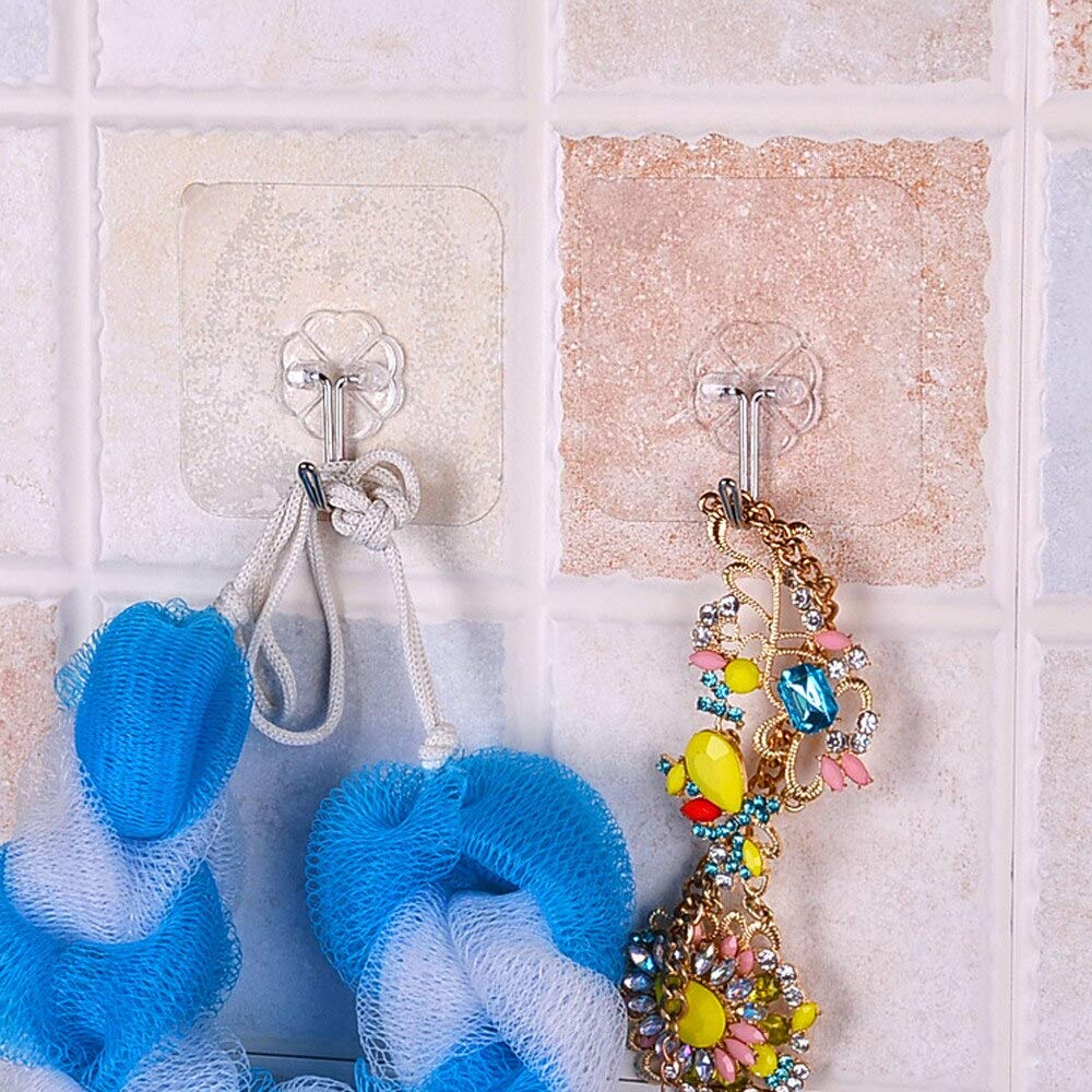 Amazon.com: Home Storage - 6pcs Wall Hooks Hanger Kitchen ...