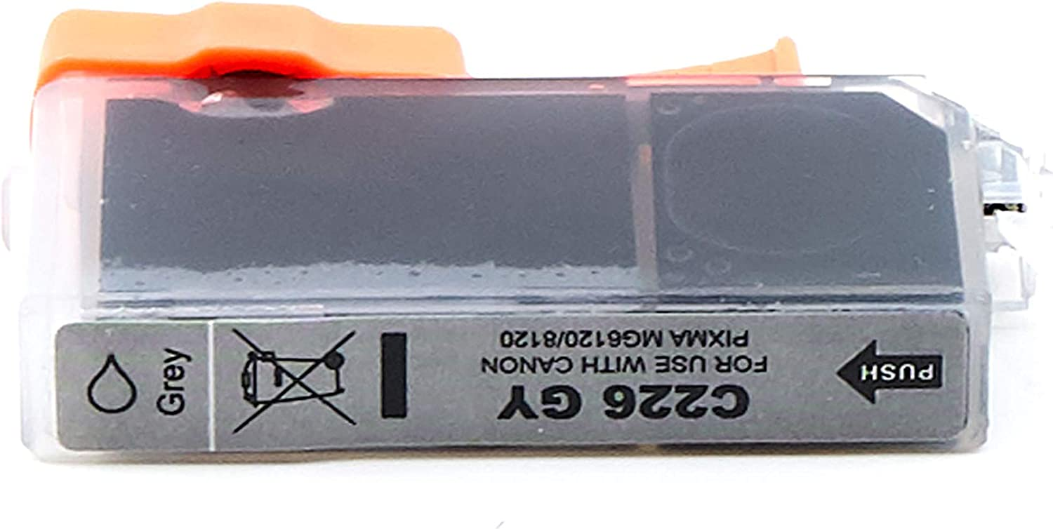 4550B001 Gray,1 Pack CLI226GY SuppliesOutlet Compatible Ink Cartridge Replacement for Canon CLI-226GY