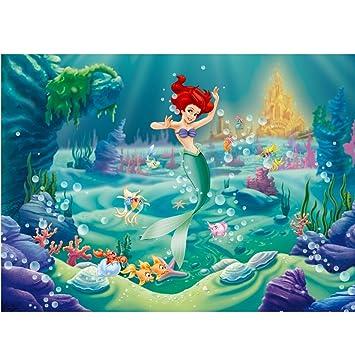 AG Design FTDm 0701 Arielle Disney Princess Prinzessin, Papier ...