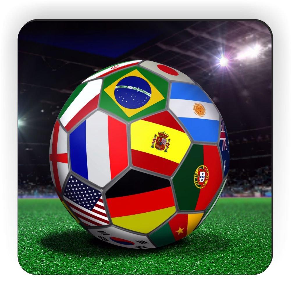 Rikki Caballero Brasil Copa Mundial 2014 Todo Equipo Banderas ...
